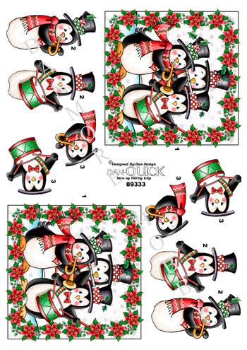 Jul / Pingvin julekor / Dan-Design