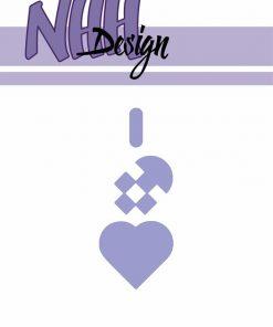 Dies / Lille flettet hjerte / NHH Design