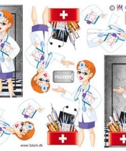 Diverse / Læge, dame / Hm design