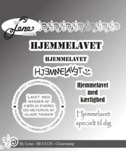 Stempel / Hjemmelavet / By Lene