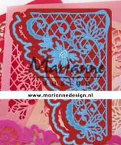 Dies / Blomster hjørne / Marianne Design