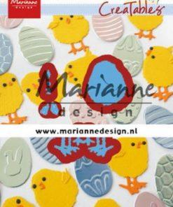 Dies / Påskekylling / Marianne Design