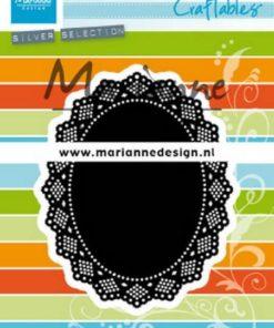Dies / Shaker oval / Marianne Design