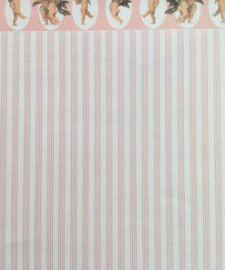 Tapet med engle, 23 x 33 cm / Dukkehus