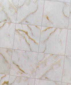 Tapet, marmor gulv 33 x 33 cm / Dukkehus
