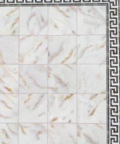 Tapet, marmor gulv 33 x 43 cm / Dukkehus