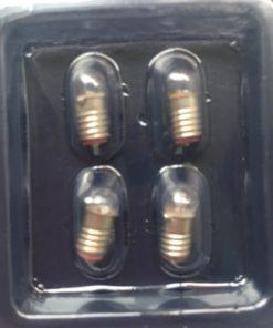 Pærer 1:12, 12 volt / stor sokkel / Dukkehus