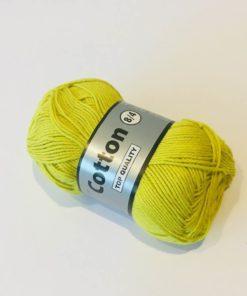 Bomuldsgarn, cotton 8/4 / Lime