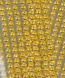 Halvperler / Guld / 6 mm