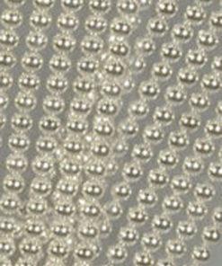 Halvperler / Sølv / 6 mm