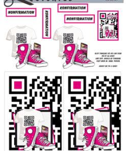 Begivenhed / T Shirt med QR kode / Quickies