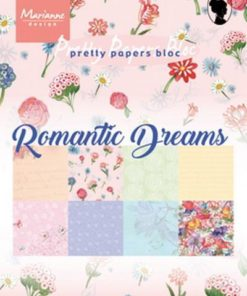 Karton A5 / Romantic dreams / Marianne Design