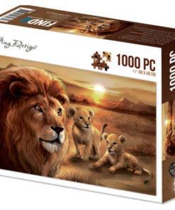 Puzzlespil / Løver / 1000 brikker