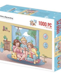 Puzzlespil / Piger til te / 1000 brikker