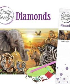 Diamantsæt / Safari / Dotty Design