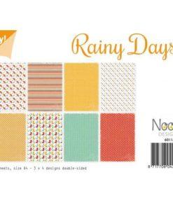 Karton A4 / rainy days / Joy Crafts