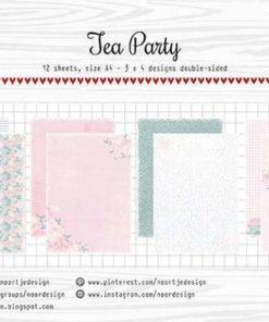 Karton A4 / Tea party / Joy crafts