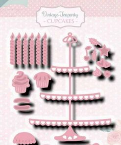 Dies / Tea party cabinet / Joy Crafts