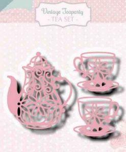 Dies / Vintage tea party / Joy Crafts