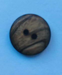 Knap 2 hul / 32 mm / træ, meleret