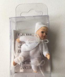 Isabel, Baby i hvidt / Dukkehus 1:12