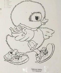 Påskekylling / Lap på lap, U.Hjælpeark
