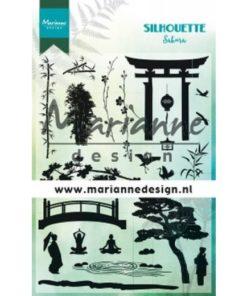 Stempel / Silhouette Sakira / Marianne design