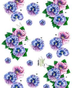 Blomster / Stedmoderblomster / Dan-Design