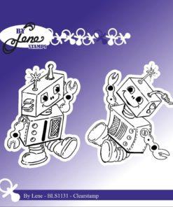 Stempel / Robotter / By Lene
