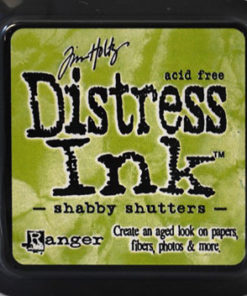 Stempelpude / Shabby shutters / Distress