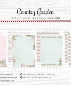 Karton A4 / Country garden / Joy Craft