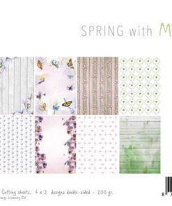 Karton A4 / Forår / Joy Craft