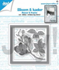 Dies / Ramme med blomster / Joy Craft