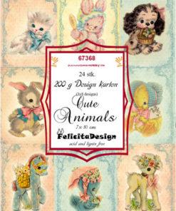 Toppers / cute animals / Felicita Design