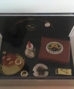 Cognac, cigarer, stearinlys, Reutter / Dukkehus