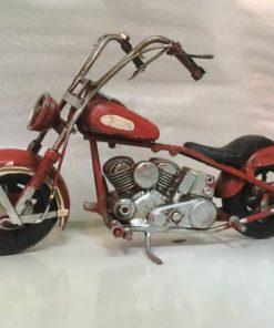 Motorcykel rød, 18 cm / Dukkehus