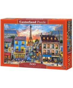 Puzzlespil / Gader i Paris / 500 brikker