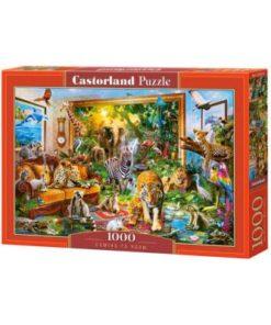 Puzzlespil / Vild med dyr / 1000 brikker