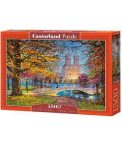 Puzzlespil / Efterår i Central park / 1500 brikker