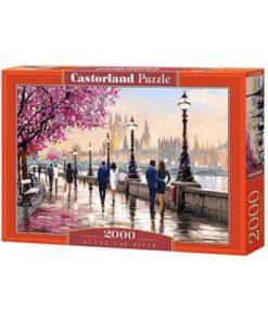Puzzlespil / Langs floden / 2000 brikker