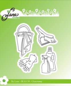 Stempel / Cleaning stuff / By Lene