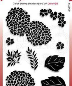 Stempel / Hortensia / Woodware