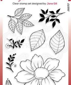 Stempel / Hunde rose / Woodware