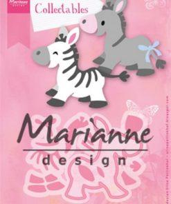 Dies / Zebra - Æsel / Marianne design