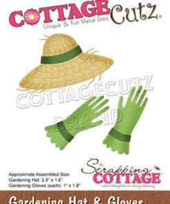 Dies / havehat & Handsker / Cottage Cutz