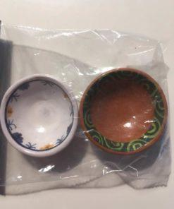 2 rustikke skåle / Dukkehus