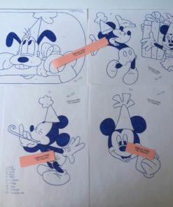 Pluto & Mickey uro / lap på lap