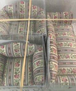 Sofa & 2 lænestole / Dukkehus