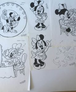 Minnie mouse uro / Lap på lap