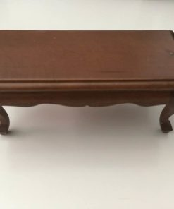 Sofabord, valnød / Dukkehus